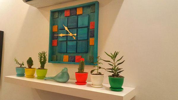 مدل ساعت چوبی برای منزل