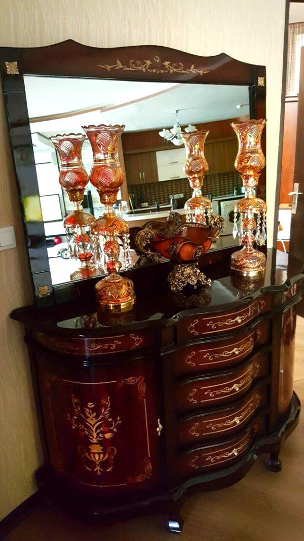 خرید آینه و شمعدان در تهران