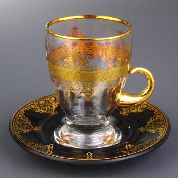 فنجان چای خوری مشکی