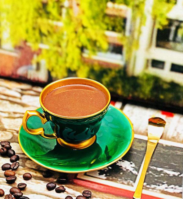 قهوه خوری سبز ترکیه ای