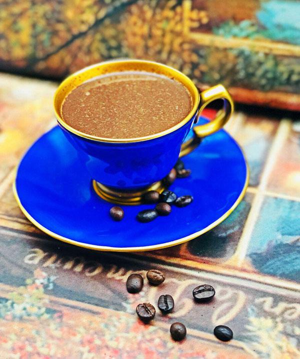قهوه خوری آبی ترکیه