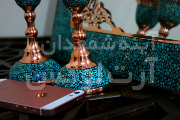 خرید آینه فیروزه کوب در تهران